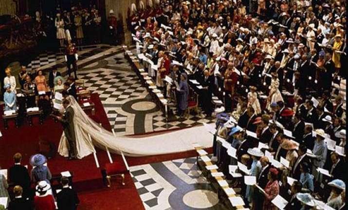 royal wedding ceremonial timings