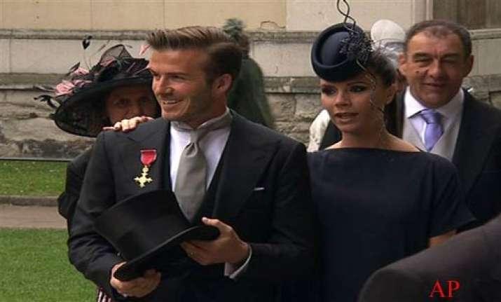 celebs sports figures royalty flock to wedding