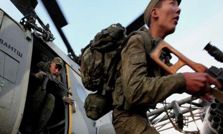 russia china to hold anti terror drills