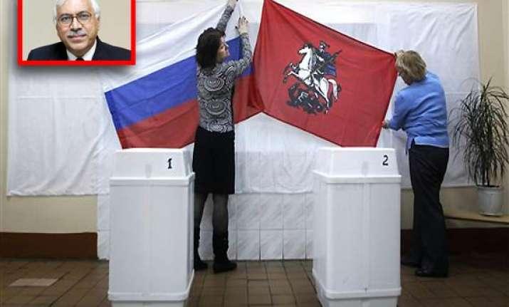 russia braces for polls cec quraishi to monitor