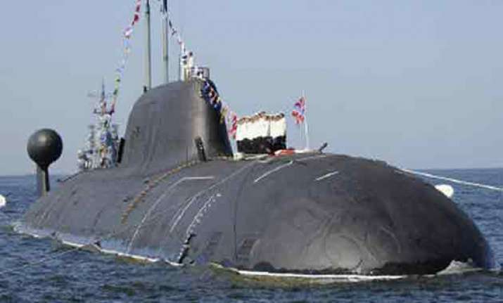 russia hands over nuclear attack sub to india