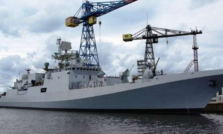 russian frigate trikand built for india begins final trials