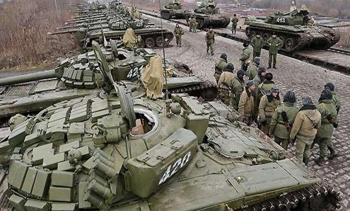 russian troops engage in war games near ukraine