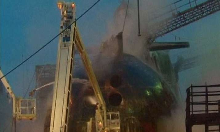 russian submarine fire contained authorities order probe