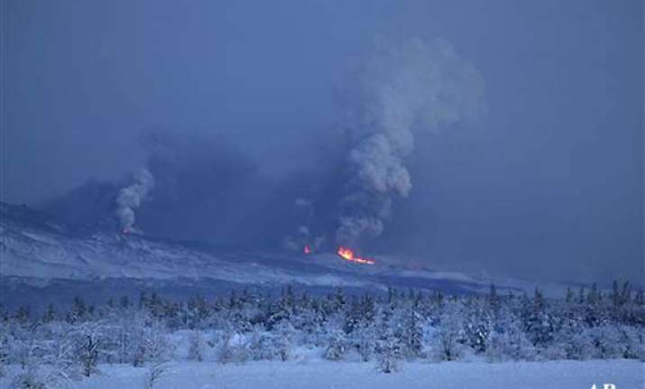 russian volcano spills record amount of lava