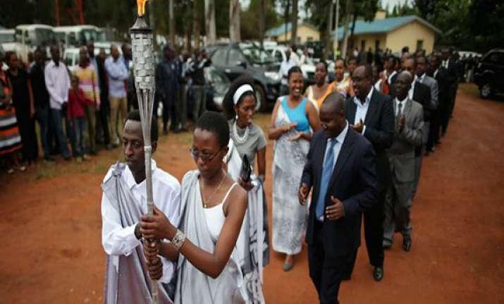 rwanda marks 20th anniversary of genocide