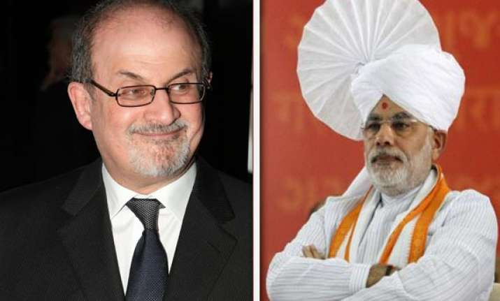 salman rushdie indian origin writers lead anti modi charge
