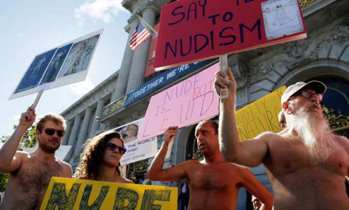san francisco to ban nudity in public places