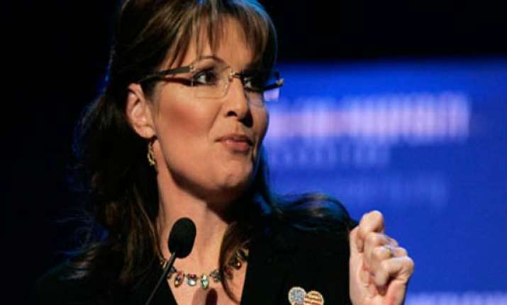 sarah palin says us due for a woman president