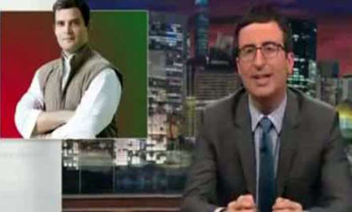 satire show targets us media for ignoring indian election