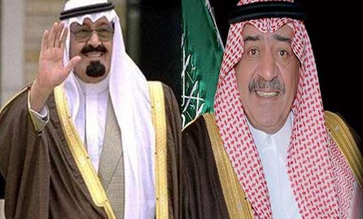 saudi king decrees half brother muqrin to be future monarch