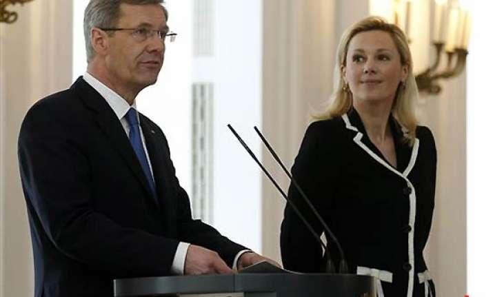 scandal hit german president steps down over corruption
