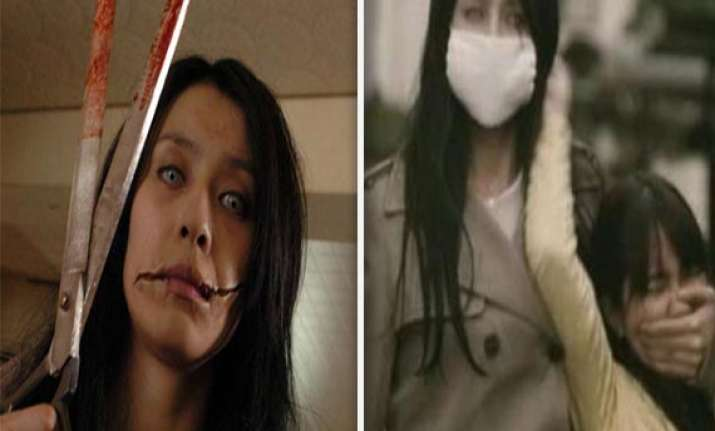 scary the slit mouth woman of japan who mutilates others too