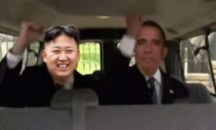 see kim jong un dancing with barack obama