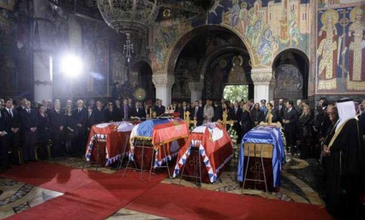serbia holds funeral for yugoslavia s last king