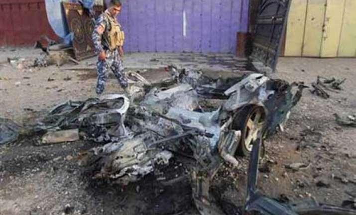 seven killed in iraq polling centre suicide attack