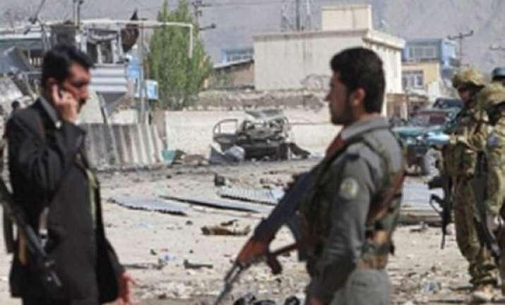 seven die in afghan blast