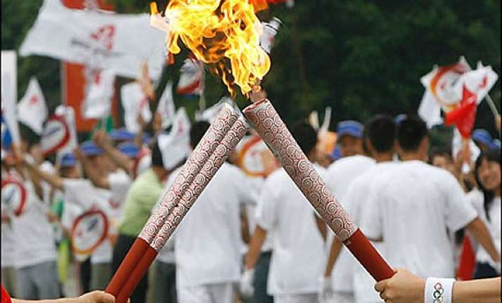 shadow of terror olympic torch will not go to pakistan