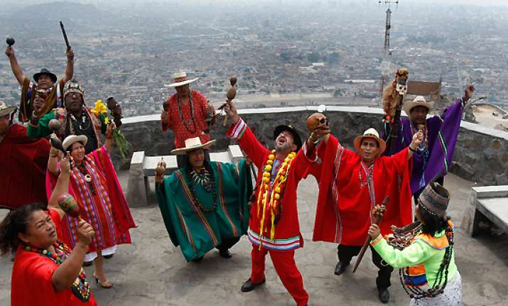 shamans in peru say world will not end in 2012