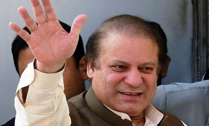 sharif to be sworn in as pm tomorrow