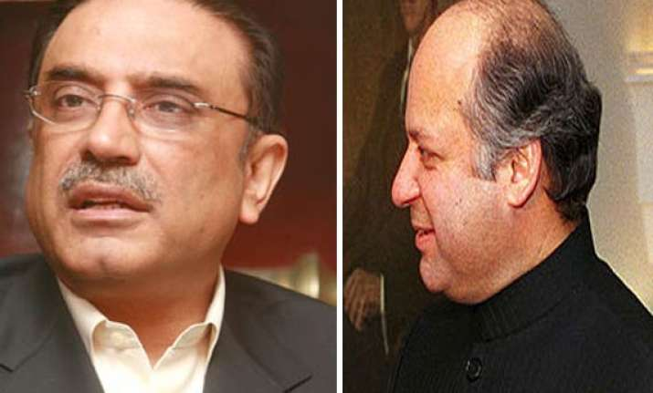 sharif trying to pit ppp against army says zardari