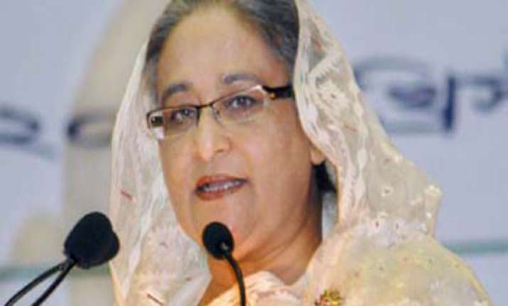 sheikh hasina congratulates narendra modi invites him to