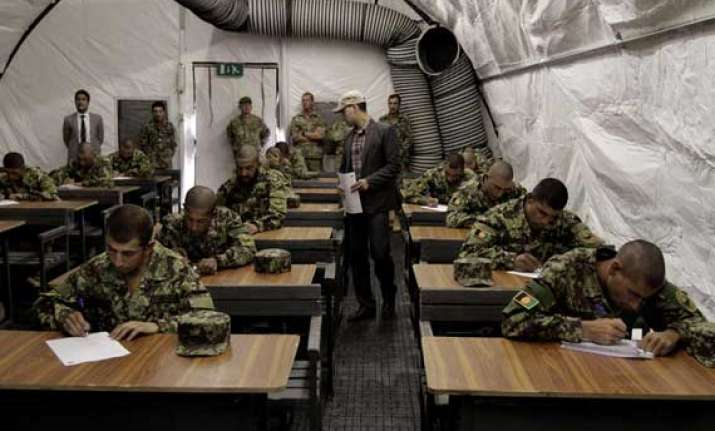 shocking half of afghan army is illiterate