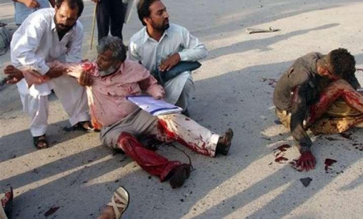 six killed as donkey cart bomb explodes in pakistan