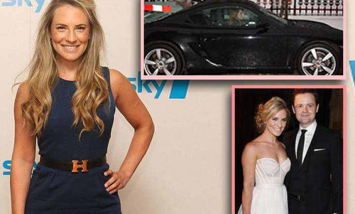 sky sports presenter georgie thompson arrested for drinking