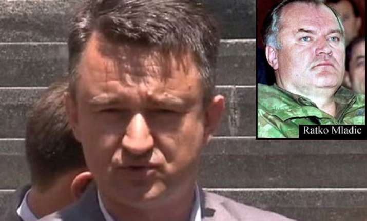 son mladic had nothing to do with srebrenica