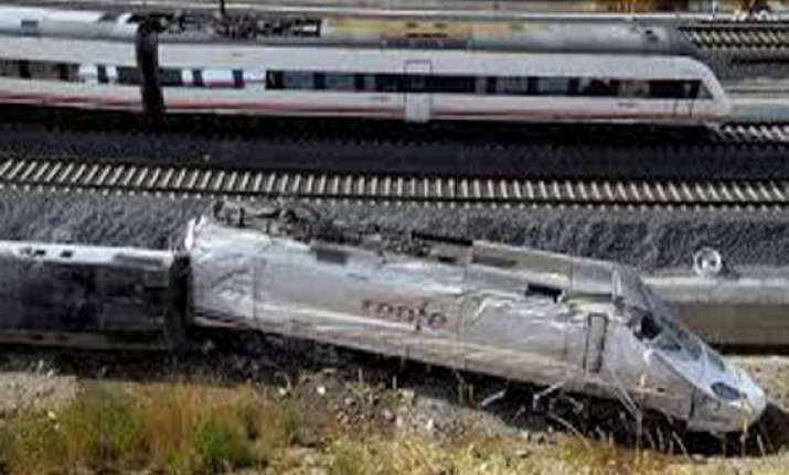 spanish train driver was on phone when it derailed