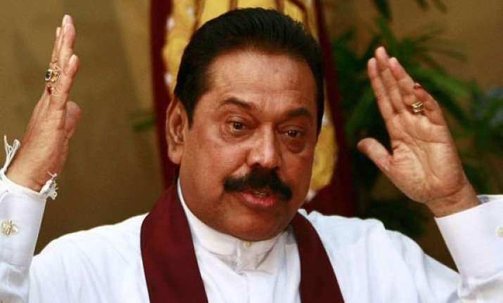 sri lanka is being penalised for ending terrorism rajapaksa