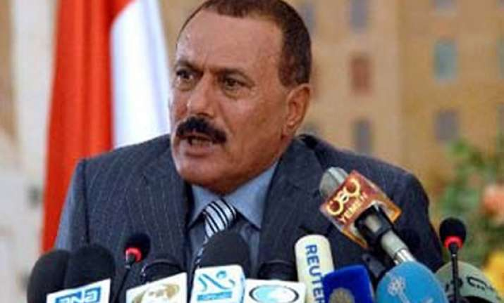 students demand ouster of yemeni president