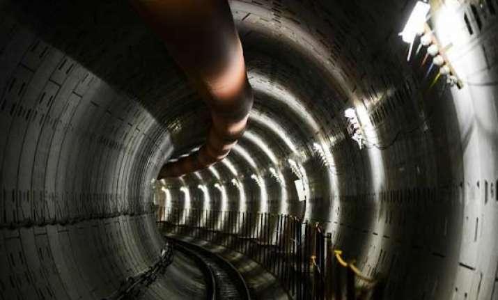 subway construction under china s yellow river begins