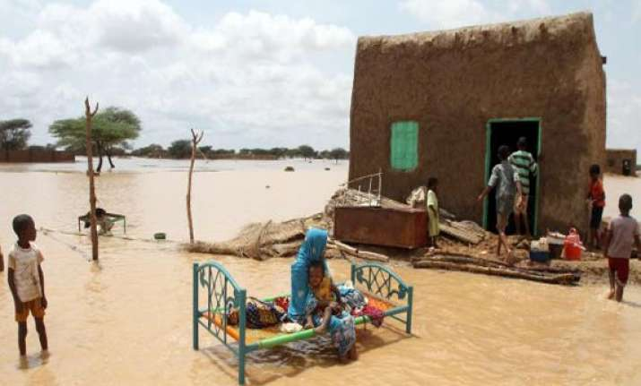 sudan flood 150 000 affected more rains expected