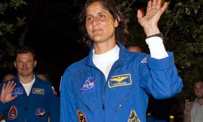 sunita williams takes over command at intl space station