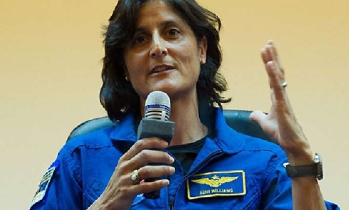 sunita williams voted before flying to her home in space