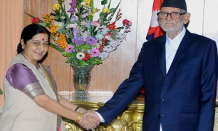sushma swaraj describes her first nepal visit very