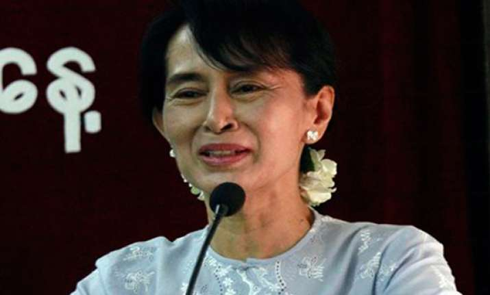 suu kyi on campaign trail for own parliament seat