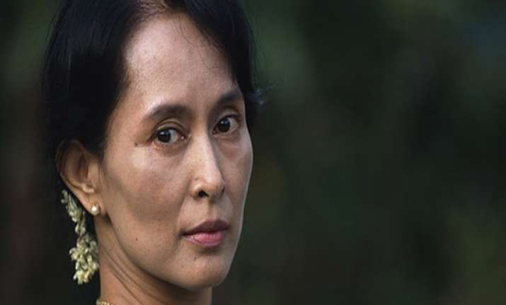 suu kyi visiting india next week