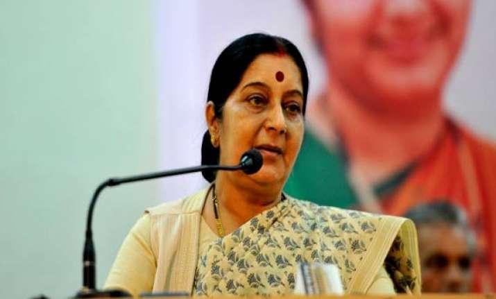 swaraj holds 7 bilateral meetings on sidelines of asean