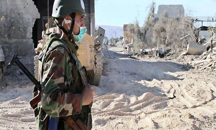 syria says rebels delay 2nd un trip to attack site