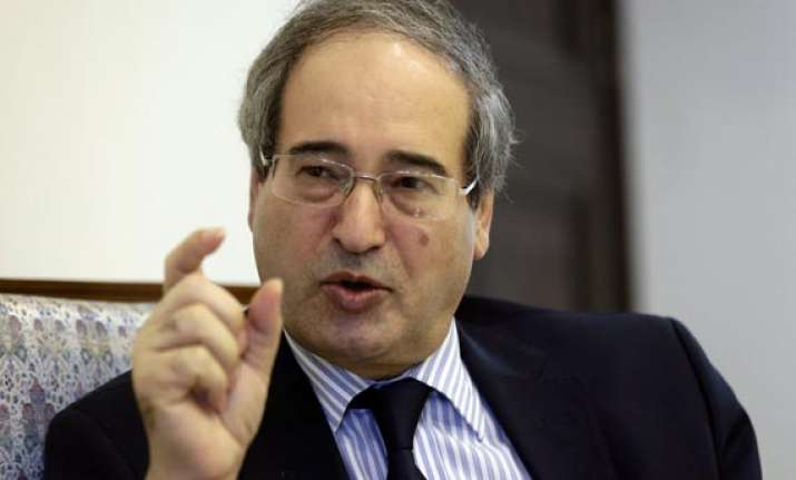 syria to respond to any aggression minister