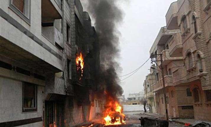 syria crackdown intensifies ahead of un vote 41 killed
