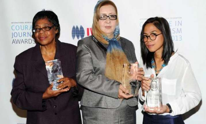syrian cambodian afghan women win media awards