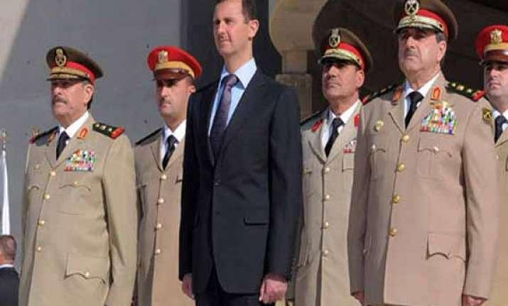 syrian president bashar assad sworn in for 3rd term