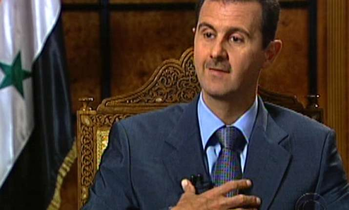 syrian president bashar al assad disconnected or crazy us