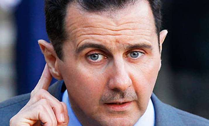 syrian president assad refuses to step down