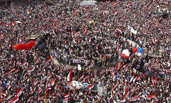 syrian security forces fire on rallies killing 20