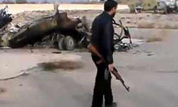 syrian rebels capture air base near damascus